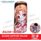 New-Asuna-Yuuki-Sword-Art-Online-Japanese-Anime-Comfort-Neck-and-Support-Mini-Round-Roll-Bolster-Dakimakura-Pillow-H800160