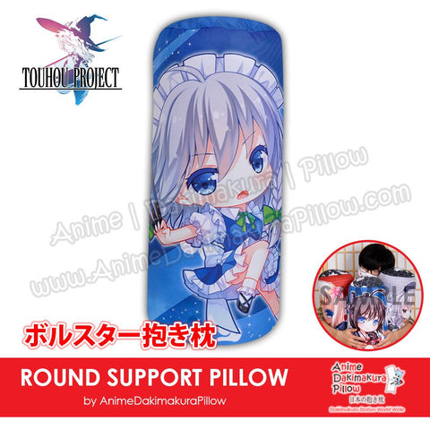 New-Sakuya-Izayoi-Touhou-Project-Japanese-Anime-Comfort-Neck-and-Support-Mini-Round-Roll-Bolster-Dakimakura-Pillow-H800166