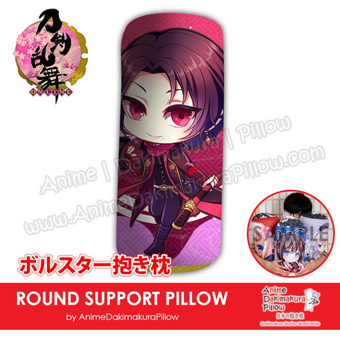 New-Kashuu-Kiyomitsu-Touken-Ranbu-Male-Japanese-Anime-Comfort-Neck-and-Support-Mini-Round-Roll-Bolster-Dakimakura-Pillow-H800168