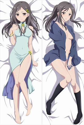 New Hanairo Hanasaku Iroha Anime Dakimakura Japanese Pillow Cover HK6 - Anime Dakimakura Pillow Shop | Fast, Free Shipping, Dakimakura Pillow & Cover shop, pillow For sale, Dakimakura Japan Store, Buy Custom Hugging Pillow Cover - 1