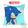 New Sonic The Hedgehog Anime Dakimakura Square Pillow Cover Custom Designer Kitsune300 ADC293 - Anime Dakimakura Pillow Shop | Fast, Free Shipping, Dakimakura Pillow & Cover shop, pillow For sale, Dakimakura Japan Store, Buy Custom Hugging Pillow Cover - 1