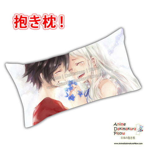 New Jinta Yadomi and Meiko Honma - Anohana Anime Dakimakura Rectangle Pillow Cover Custom Designer Yamazaki Shyn ADC727 - Anime Dakimakura Pillow Shop | Fast, Free Shipping, Dakimakura Pillow & Cover shop, pillow For sale, Dakimakura Japan Store, Buy Custom Hugging Pillow Cover - 1