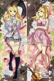 New Kaori Miyazono - Your Lie in April  Anime Dakimakura Japanese Hugging Body Pillow Cover H09875 - Anime Dakimakura Pillow Shop | Fast, Free Shipping, Dakimakura Pillow & Cover shop, pillow For sale, Dakimakura Japan Store, Buy Custom Hugging Pillow Cover - 1