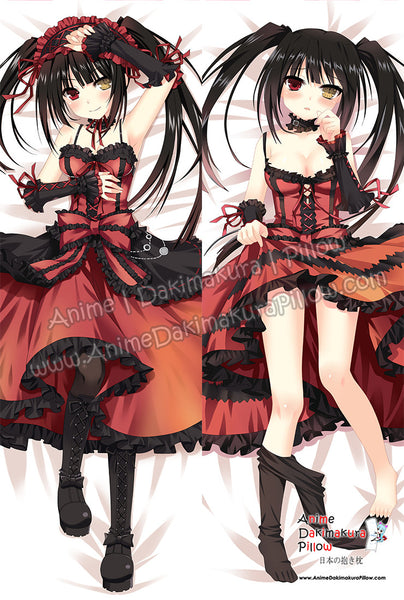 New Kurumi Tokisaki Anime Dakimakura Japanese Hugging Body Pillow Cover  ADP-0203