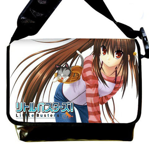 New Little Busters Anime Shoulder - 2 Size (Medium / Large) Bag10 - Anime Dakimakura Pillow Shop | Fast, Free Shipping, Dakimakura Pillow & Cover shop, pillow For sale, Dakimakura Japan Store, Buy Custom Hugging Pillow Cover - 1