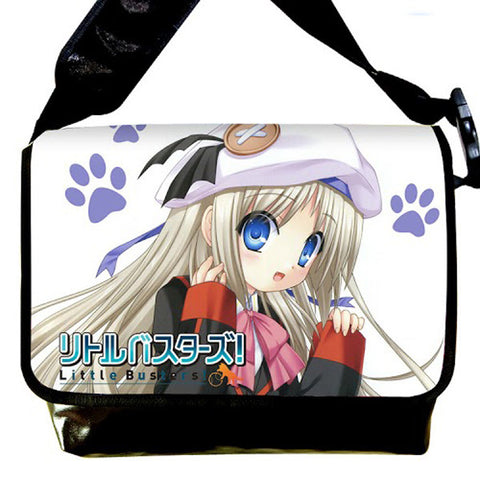 New Little Busters Anime Shoulder - 2 Size (Medium / Large) Bag11 - Anime Dakimakura Pillow Shop | Fast, Free Shipping, Dakimakura Pillow & Cover shop, pillow For sale, Dakimakura Japan Store, Buy Custom Hugging Pillow Cover - 1