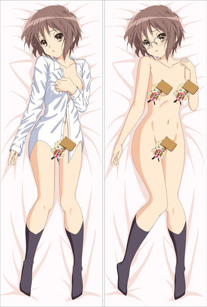 New The Melancholy of Suzumiya Spring Anime Dakimakura Japanese Pillow Cover LG14