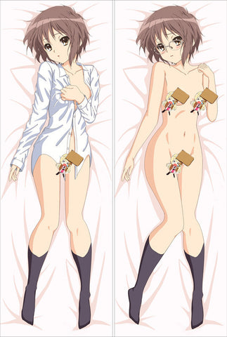 New The Melancholy of Suzumiya Spring Anime Dakimakura Japanese Pillow Cover LG14 - Anime Dakimakura Pillow Shop | Fast, Free Shipping, Dakimakura Pillow & Cover shop, pillow For sale, Dakimakura Japan Store, Buy Custom Hugging Pillow Cover - 1