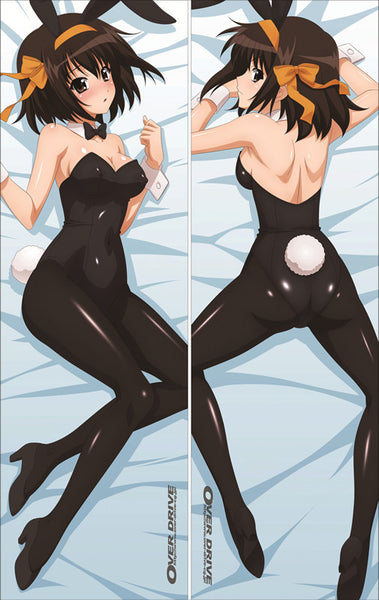 New The Melancholy of Suzumiya Spring Anime Dakimakura Japanese Pillow Cover LG20