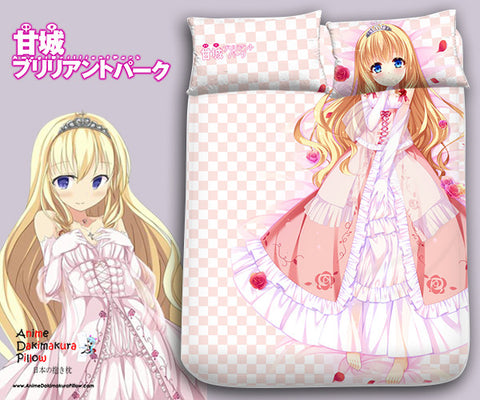 New Latifa Fleuranza - Amagi Brilliant Park Japanese Anime Bed Blanket or Duvet Cover with Pillow Covers Blanket 2 - Anime Dakimakura Pillow Shop | Fast, Free Shipping, Dakimakura Pillow & Cover shop, pillow For sale, Dakimakura Japan Store, Buy Custom Hugging Pillow Cover - 1
