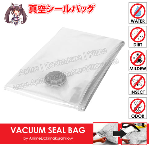 New Dakimakura Compress Vacuum Seal Bag for Easy Storage