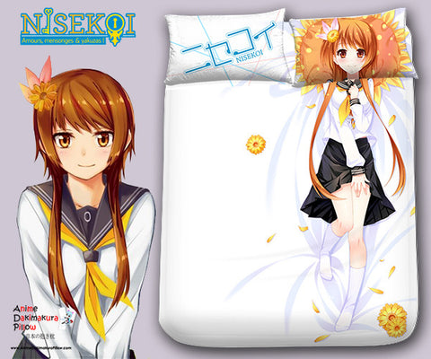 New Marika Tachibana - Nisekoi Japanese Anime Bed Blanket or Duvet Cover with Pillow Covers Blanket 1 - Anime Dakimakura Pillow Shop | Fast, Free Shipping, Dakimakura Pillow & Cover shop, pillow For sale, Dakimakura Japan Store, Buy Custom Hugging Pillow Cover - 1