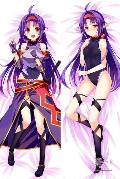 New Konno Yuuki Anime Dakimakura Japanese Pillow Cover MGF 12045 - Anime Dakimakura Pillow Shop | Fast, Free Shipping, Dakimakura Pillow & Cover shop, pillow For sale, Dakimakura Japan Store, Buy Custom Hugging Pillow Cover - 1