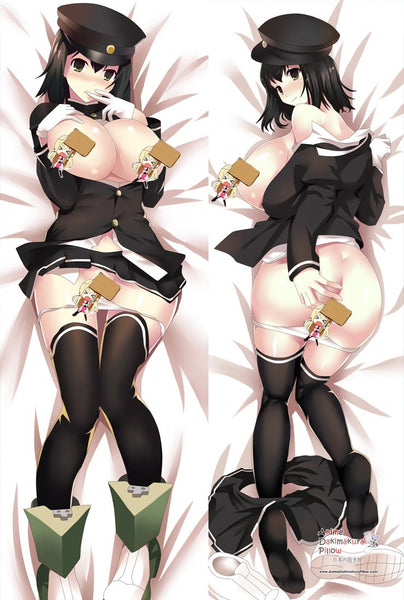 New Kantai Collection Anime Dakimakura Japanese Pillow Cover MGF 12058