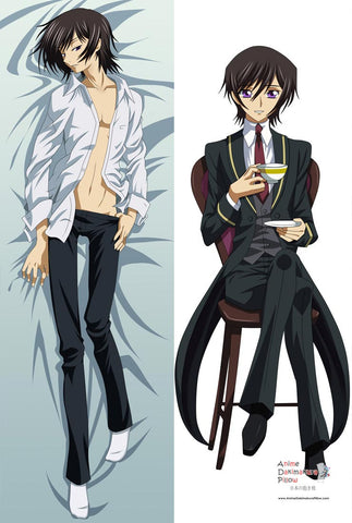 New Code Geass Lelouch Anime Dakimakura Japanese Pillow Cover ContestOneHundredThree 1 MGF12105 - Anime Dakimakura Pillow Shop | Fast, Free Shipping, Dakimakura Pillow & Cover shop, pillow For sale, Dakimakura Japan Store, Buy Custom Hugging Pillow Cover - 1