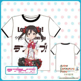 New Love Live Full Color Exclusive Anime Print Short Sleeve High Quality Soft Comfortable Tshirt MGF-29 - Anime Dakimakura Pillow Shop | Fast, Free Shipping, Dakimakura Pillow & Cover shop, pillow For sale, Dakimakura Japan Store, Buy Custom Hugging Pillow Cover - 1