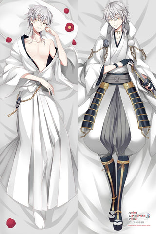 New Tsurumaru - Touken Ranbu Male Anime Dakimakura Japanese Hugging Body Pillow Cover MGF-510037 - Anime Dakimakura Pillow Shop | Fast, Free Shipping, Dakimakura Pillow & Cover shop, pillow For sale, Dakimakura Japan Store, Buy Custom Hugging Pillow Cover - 1