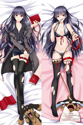 New Kirihime Natsuno - Dogs and Scissors Anime Dakimakura Japanese Hugging Body Pillow Cover MGF-510041 - Anime Dakimakura Pillow Shop | Fast, Free Shipping, Dakimakura Pillow & Cover shop, pillow For sale, Dakimakura Japan Store, Buy Custom Hugging Pillow Cover - 1