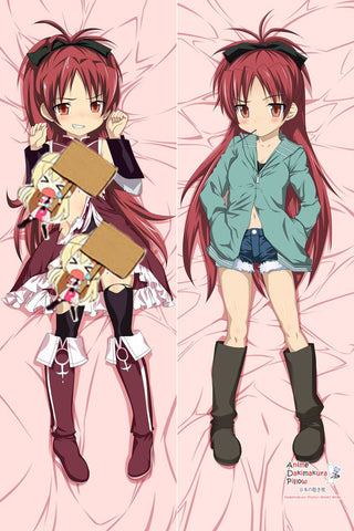 New Sakura Kyouko - Puella Magi Madoka Magica Anime Dakimakura Japanese Hugging Body Pillow Cover MGF-511003 - Anime Dakimakura Pillow Shop | Fast, Free Shipping, Dakimakura Pillow & Cover shop, pillow For sale, Dakimakura Japan Store, Buy Custom Hugging Pillow Cover - 1