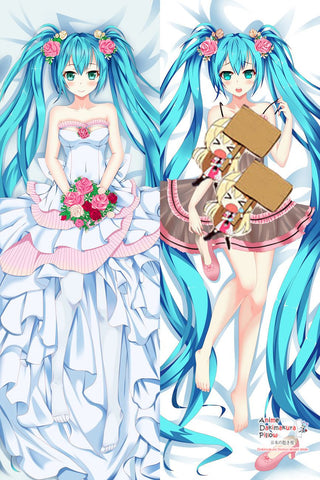 New Hatsune Miku - Vocaloid Anime Dakimakura Japanese Hugging Body Pillow Cover MGF-511009 - Anime Dakimakura Pillow Shop | Fast, Free Shipping, Dakimakura Pillow & Cover shop, pillow For sale, Dakimakura Japan Store, Buy Custom Hugging Pillow Cover - 1