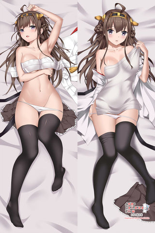 New Kongou - Kantai Collection Anime Dakimakura Japanese Hugging Body Pillow Cover MGF-511020 - Anime Dakimakura Pillow Shop | Fast, Free Shipping, Dakimakura Pillow & Cover shop, pillow For sale, Dakimakura Japan Store, Buy Custom Hugging Pillow Cover - 1