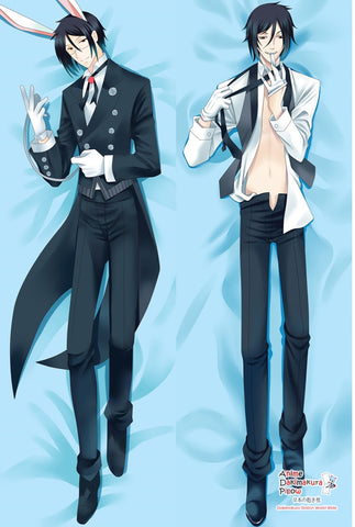 New Black Butler Anime Dakimakura Japanese Pillow Cover MGF-54059 - Anime Dakimakura Pillow Shop | Fast, Free Shipping, Dakimakura Pillow & Cover shop, pillow For sale, Dakimakura Japan Store, Buy Custom Hugging Pillow Cover - 1