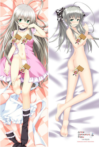 New Adorable Girl Gray Hair Anime Dakimakura Japanese Pillow Cover  MGF-54068 - Anime Dakimakura Pillow Shop | Fast, Free Shipping, Dakimakura Pillow & Cover shop, pillow For sale, Dakimakura Japan Store, Buy Custom Hugging Pillow Cover - 1