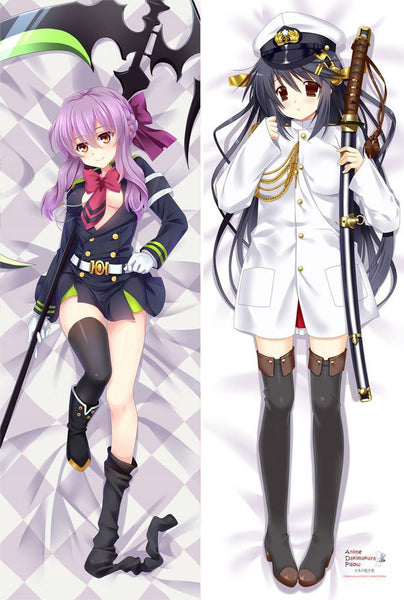 New Owari no Seraph & Kantai Collection Anime Dakimakura Japanese Hugging Body Pillow Cover MGF-56004 MGF-56013