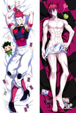 New Hisoka Hunter X Hunter Male Anime Dakimakura Japanese Hugging Body Pillow Cover MGF-57015 - Anime Dakimakura Pillow Shop | Fast, Free Shipping, Dakimakura Pillow & Cover shop, pillow For sale, Dakimakura Japan Store, Buy Custom Hugging Pillow Cover - 1