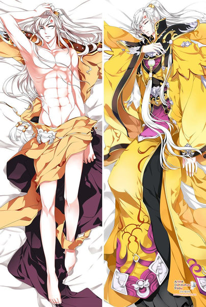New Chinese Online Game Character Male Anime Dakimakura Japanese Hugging Body Pillow Cover MGF-57038