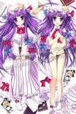 New Patchouli Knowledge - Touhou Project Anime Dakimakura Japanese Hugging Body Pillow Cover ADP-62034 - Anime Dakimakura Pillow Shop | Fast, Free Shipping, Dakimakura Pillow & Cover shop, pillow For sale, Dakimakura Japan Store, Buy Custom Hugging Pillow Cover - 1