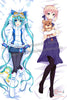 New Miku Hatsune and Saber Fate Stay Night Anime Dakimakura Japanese Hugging Body Pillow Cover ADP-63005 ADP-63007 - Anime Dakimakura Pillow Shop | Fast, Free Shipping, Dakimakura Pillow & Cover shop, pillow For sale, Dakimakura Japan Store, Buy Custom Hugging Pillow Cover - 1