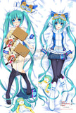 New Snow Miku Hatsune - Vocaloid Anime Dakimakura Japanese Hugging Body Pillow Cover ADP-63007 - Anime Dakimakura Pillow Shop | Fast, Free Shipping, Dakimakura Pillow & Cover shop, pillow For sale, Dakimakura Japan Store, Buy Custom Hugging Pillow Cover - 1