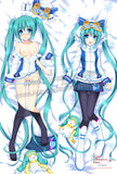 New Snow Miku Hatsune - Vocaloid Anime Dakimakura Japanese Hugging Body Pillow Cover ADP-63007 - Anime Dakimakura Pillow Shop | Fast, Free Shipping, Dakimakura Pillow & Cover shop, pillow For sale, Dakimakura Japan Store, Buy Custom Hugging Pillow Cover - 2