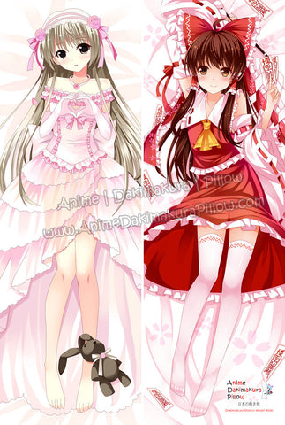 New Yosuga no Sora and Touhou Project Anime Dakimakura Japanese Hugging Body Pillow Cover ADP-63012 ADP-63025 - Anime Dakimakura Pillow Shop | Fast, Free Shipping, Dakimakura Pillow & Cover shop, pillow For sale, Dakimakura Japan Store, Buy Custom Hugging Pillow Cover - 1