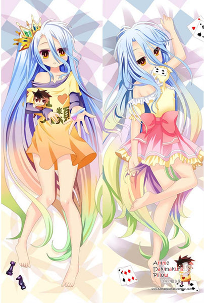New  No Game No Life Anime Dakimakura Japanese Pillow Cover MGF 7012 - Anime Dakimakura Pillow Shop | Fast, Free Shipping, Dakimakura Pillow & Cover shop, pillow For sale, Dakimakura Japan Store, Buy Custom Hugging Pillow Cover - 1