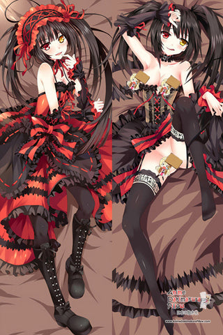 New Kurumi Tokisaki - Date A Live Anime Dakimakura Japanese Pillow Cover MGF 7042 - Anime Dakimakura Pillow Shop | Fast, Free Shipping, Dakimakura Pillow & Cover shop, pillow For sale, Dakimakura Japan Store, Buy Custom Hugging Pillow Cover - 1