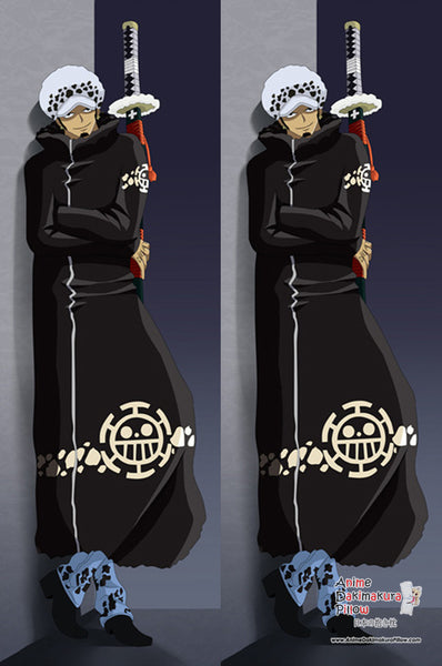 New  Trafalgar Law Shichibukai Anime Dakimakura Japanese Pillow Cover MGF 7050 - Anime Dakimakura Pillow Shop | Fast, Free Shipping, Dakimakura Pillow & Cover shop, pillow For sale, Dakimakura Japan Store, Buy Custom Hugging Pillow Cover - 1