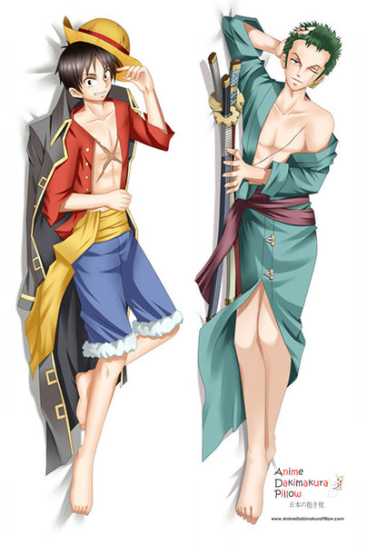New  One Piece Anime Dakimakura Japanese Pillow Cover MGF 7062