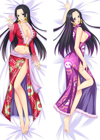 New One Piece Boa Hancock Anime Dakimakura Japanese Pillow Cover ContestOneHundredFour8 MGF110 - Anime Dakimakura Pillow Shop | Fast, Free Shipping, Dakimakura Pillow & Cover shop, pillow For sale, Dakimakura Japan Store, Buy Custom Hugging Pillow Cover - 1