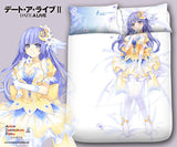 New Miku Izayoi - Date a Live Japanese Anime Bed Blanket or Duvet Cover with Pillow Covers Blanket 11 - Anime Dakimakura Pillow Shop | Fast, Free Shipping, Dakimakura Pillow & Cover shop, pillow For sale, Dakimakura Japan Store, Buy Custom Hugging Pillow Cover - 1