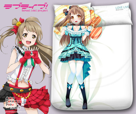 New Minami Kotori - Love Live Japanese Anime Bed Blanket or Duvet Cover with Pillow Covers Blanket 4 - Anime Dakimakura Pillow Shop | Fast, Free Shipping, Dakimakura Pillow & Cover shop, pillow For sale, Dakimakura Japan Store, Buy Custom Hugging Pillow Cover - 1