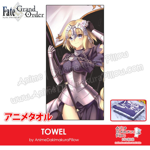 New-Jeanne-D'arc-Fate-Grand-Order-Japanese-Anime-Soft-Quick-Dry-and-Highly-Absorbent-Towel-ADP-MJ170074