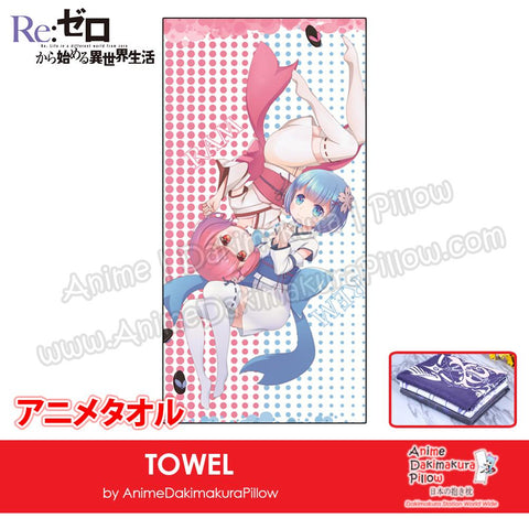 New-Ram-and-Rem-Re-Zero-Japanese-Anime-Soft-Quick-Dry-and-Highly-Absorbent-Towel-ADP-MJ170075