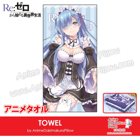 New-Rem-Re-Zero-Japanese-Anime-Soft-Quick-Dry-and-Highly-Absorbent-Towel-ADP-MJ170083