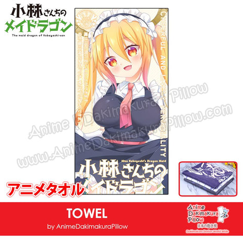 New-Tohru-Miss-Kobayashi's-Dragon-Maid-Japanese-Anime-Soft-Quick-Dry-and-Highly-Absorbent-Towel-ADP-MJ170091