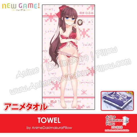 New-Takimoto-Hifumi-New-Game!-Japanese-Anime-Soft-Quick-Dry-and-Highly-Absorbent-Towel-ADP-MJ170125