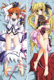 New Magical Girl Lyrical Nanoha Anime Dakimakura Japanese Pillow Cover NY36 - Anime Dakimakura Pillow Shop | Fast, Free Shipping, Dakimakura Pillow & Cover shop, pillow For sale, Dakimakura Japan Store, Buy Custom Hugging Pillow Cover - 1