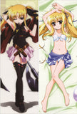 New Magical Girl Lyrical Nanoha Anime Dakimakura Japanese Pillow Cover NY53 - Anime Dakimakura Pillow Shop | Fast, Free Shipping, Dakimakura Pillow & Cover shop, pillow For sale, Dakimakura Japan Store, Buy Custom Hugging Pillow Cover - 1
