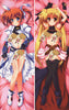 New Magical Girl Lyrical Nanoha Anime Dakimakura Japanese Pillow Cover NY74 - Anime Dakimakura Pillow Shop | Fast, Free Shipping, Dakimakura Pillow & Cover shop, pillow For sale, Dakimakura Japan Store, Buy Custom Hugging Pillow Cover - 1